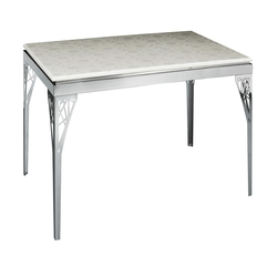 Dining Room Luxury And Gorgeous Glass Dining Table Stainless - Karbonix