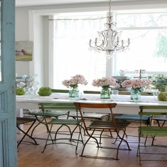 Dining Room Stunning Shabby Chic Dining Room Design With - Karbonix