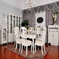 Dining Room Tables With Nice Curtains French Country - Karbonix
