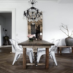 Dining Room Traditional Dining Room Design With Old Table Dining - Karbonix