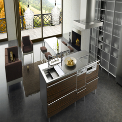 Dining Table Open Kitchen - Karbonix