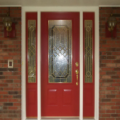 Door Picture Modern Front - Karbonix