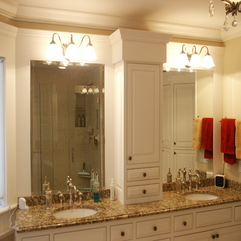 Double Vanity Mirrors Luxury Bathroom - Karbonix