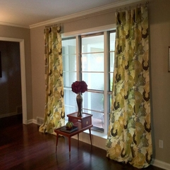 Drapes Bright And Airy Living Room - Karbonix
