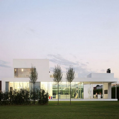 Dream Home Design With Large Glazed Windows Stunning White - Karbonix