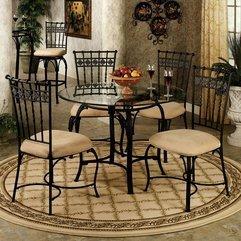 Elegant Classic Luxurious Minimalist Dining Room Style Furniture - Karbonix