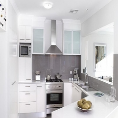 Elegant Kitchens All White - Karbonix