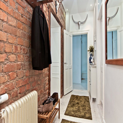 Entry Hallway Design Scandinavian Style - Karbonix