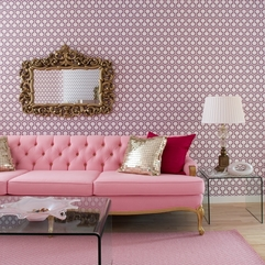 Best Inspirations : Extraordinary Art Deco Apartment Living Room Special Casual Pink - Karbonix
