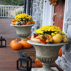 Best Inspirations : Fall Decorating At Home With The Pottery Ideas - Karbonix