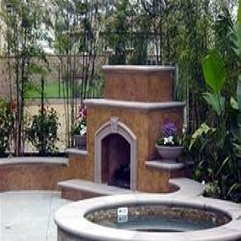 Fantastic Backyard Fireplace Designs And Ideas The Concrete - Karbonix