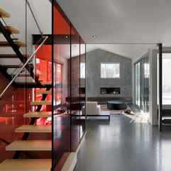 Fcheerful Design Minimalist Modern Home With Colorful Glazed - Karbonix