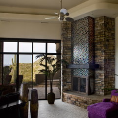 Best Inspirations : Feature Fireplace Alpentile Glass Tile Pools And Spas - Karbonix