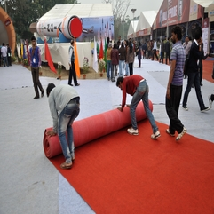 File Rolling Out Red Carpet Pride Of India Exhibition 100th - Karbonix