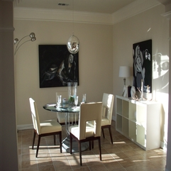 Fine Looking Four White Unique Upholstered Dining Chairs And Sweet - Karbonix