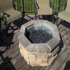 Firepit Luxury Gas Design Idea - Karbonix