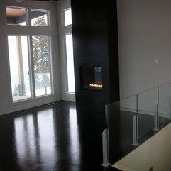 Fireplace Contemporary Black - Karbonix
