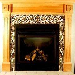 Fireplace Modern Fireplace Decorating Design Ideas With Artwork - Karbonix