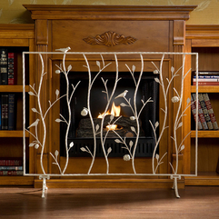 Fireplace Screens Design Simple Decorative - Karbonix