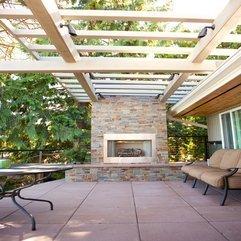 Fireplace Wonderful Outdoor Living Space Decorating Design Ideas - Karbonix