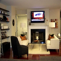Best Inspirations : Fireplaces With Living Room Decor Ideas - Karbonix