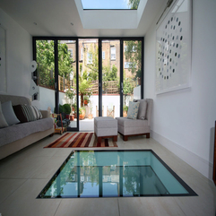 Floor Tile Design Unique Glass - Karbonix