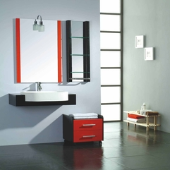 Furniture Oms 2058 China Bathroom Bathroom Cabinets Iconic Bathroom - Karbonix