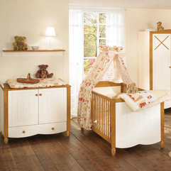 Furniture Set With Chest Changing Board Wall Mounted Shelf Baby Bedding - Karbonix
