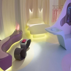 Futuristic Bedroom By Karim Rashid Corian - Karbonix
