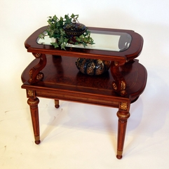 Futuristic Des Corner Table - Karbonix