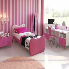 Girl Bedroom Decorating Ideas Pink Futuristic - Karbonix
