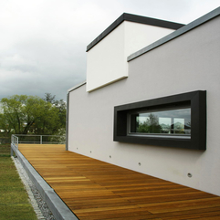 Glazed Window With Black Frame Placed White Wall Small Transparent - Karbonix