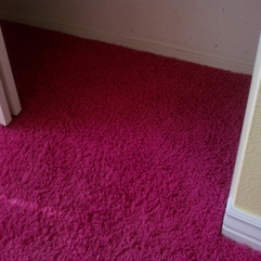 Glendale Hot Pink Carpet Re Stretching Job Phoenix Carpet Repair - Karbonix