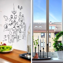 Graceful Retro Scenery Look Out The Window In Colorful Apartment - Karbonix