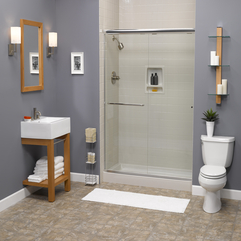 Gray Shower Modern Classic - Karbonix