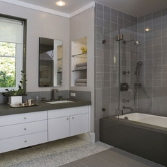 Grey Charming Bathrooms - Karbonix