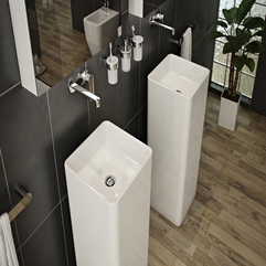 Grey Exotic Bathrooms - Karbonix