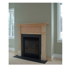 Hand Made Colonial Fireplace Surround By Homecoming Woodworks - Karbonix
