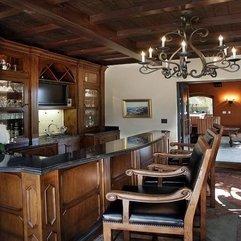Home Bar Sets Traditional Wine Cellar Idea - Karbonix