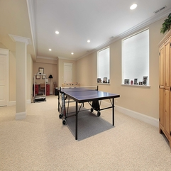 Home Design Sweet Table Tennis Court On Cream Living Carpet As - Karbonix