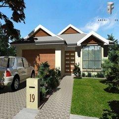 Home Landscape Illustration Exterior - Karbonix