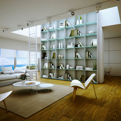 Home Library Interior Design - Karbonix