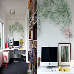 Home Office Design Idea Funky - Karbonix