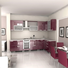 Home Paint Colours Kitchen Cabinet Design Interior In Stylish - Karbonix