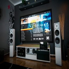 Home Theater At Home Entertainment - Karbonix