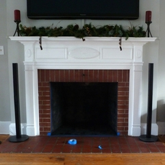 Hopelessly Ever After Whitewashed The Fireplace - Karbonix