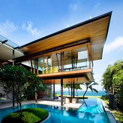 House For Pools Design Modern Exotic - Karbonix