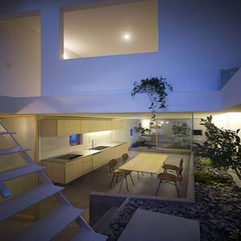 House Indoor Garden Design Minimalist Japanese - Karbonix