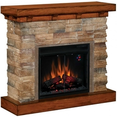 How To Captivate The Beauty Of Natural Stone Fireplace Picture - Karbonix