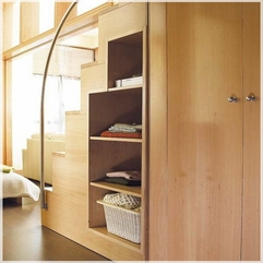Ideas Bedroom Under Stairs Wooden Storage Fascinating Design - Karbonix